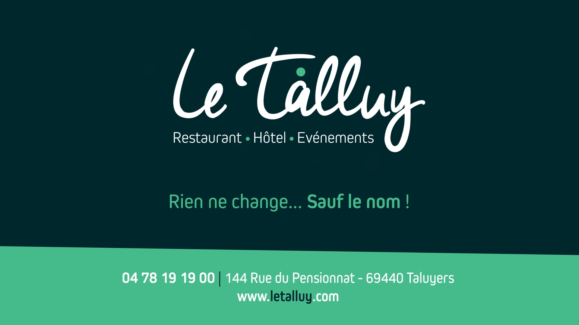 Le Château Talluy devient Le Talluy